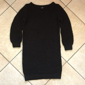 H&M Ribbed Chunky Long Sleeve Sweater